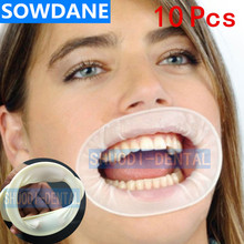 10 шт. стоматологический одноразовый резиновые стерильные рот открывалка полости рта расширители щеки втягивающее устройство резиновый изолятор слюны рот открывалка для гигиены полости рта