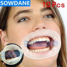 10 pcs Dental Disposable Rubber Sterile Mouth Opener Oral Cheek Expanders Retractor Rubber Dam Mouth Opener Oral Hygiene(China)