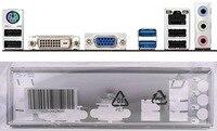 Nueva placa posterior de i/o shield de la placa base para P8H61-M LX2 R2.0 P8B75-M LX PLUS just shield backplate envío gratis