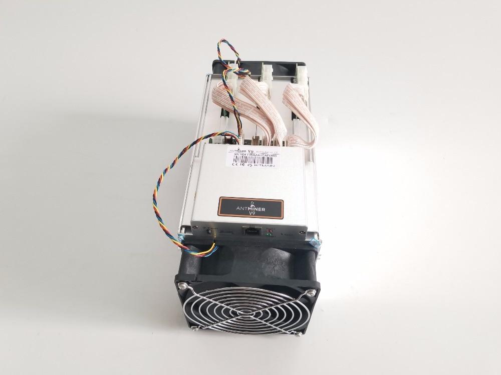 Новый AntMiner V9 4 T/S Bitcoin шахтера БТД (без БП) МПБ Asic шахтер лучше чем AntMiner S3 S5 S7 S9 S9i T9 + WhatsMiner M3