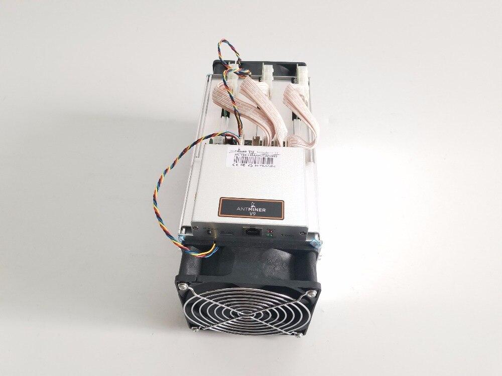 New AntMiner V9 4T/S Bitcoin BTC Miner (NO PSU)BCH Asic Miner Better Than Antminer S3 S5 S7 S9 S9i T9+ WhatsMiner M3