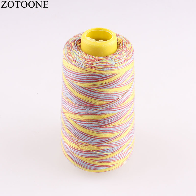 Zotoone 3000y 40s2 Spool Sewing Threads Jeans Cheap Embroidery