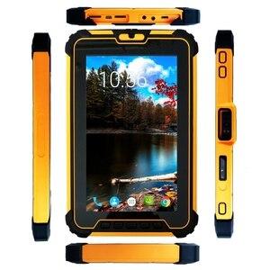 Image 4 - 8 cal Android 7.1 wytrzymały Tablet PC z 8 rdzeń procesora, 2 GHz pamięć Ram 4 GB Rom 64 GB With2D skaner kodów kreskowych 10000 mAh