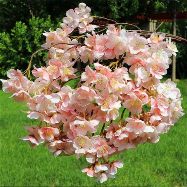 30 artificial cherry blossom branch sakura flower fake pink 30 artificial cherry blossom branch sakura flower fake pinkchampagne cherry tree stem flowers 105cm mightylinksfo