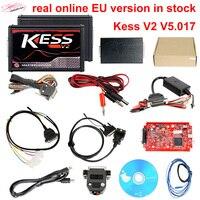 2017 RED PCB Beste qualität KESS V5.017 SW V2.23 kess v2 5,017 Master obd ii OBD2 Manager ecu autoprogrammierwerkzeuge unterstützung online