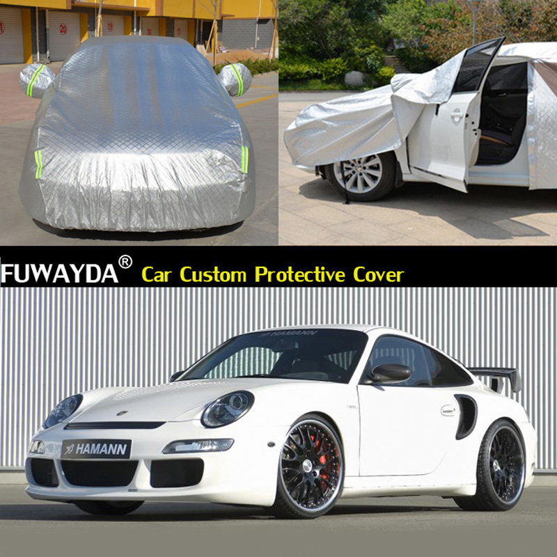 free shipping!!! Car Cover Anti UV Snow Rain Scratch Resistant Automatic Car Covers For Porsche 996 50 fantastic ideas for rain wind and snow