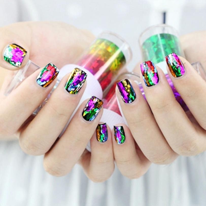 Красота девушки 2017 4*100 cm ногтей sickers Невеста маникюрный набор серии ногтей патч звезда ногтей украшения Dropshopping