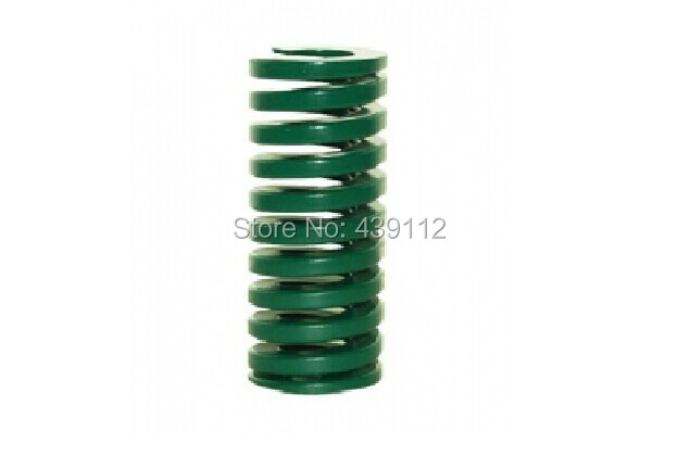 green 18mm x 9mm x 55mm Metal Tubular Section Mould Die Spring 10pcs/lot free shipping 16mm x 8mm x 50 mm green metal tubular section mould die spring 10pcs lot