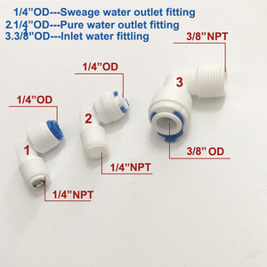 Image 3 - Reverse Osmosis 3013 Housing for RO Membrane 3013 400 gpd/3013 600gpd With All Fittings Water Filter Accessories