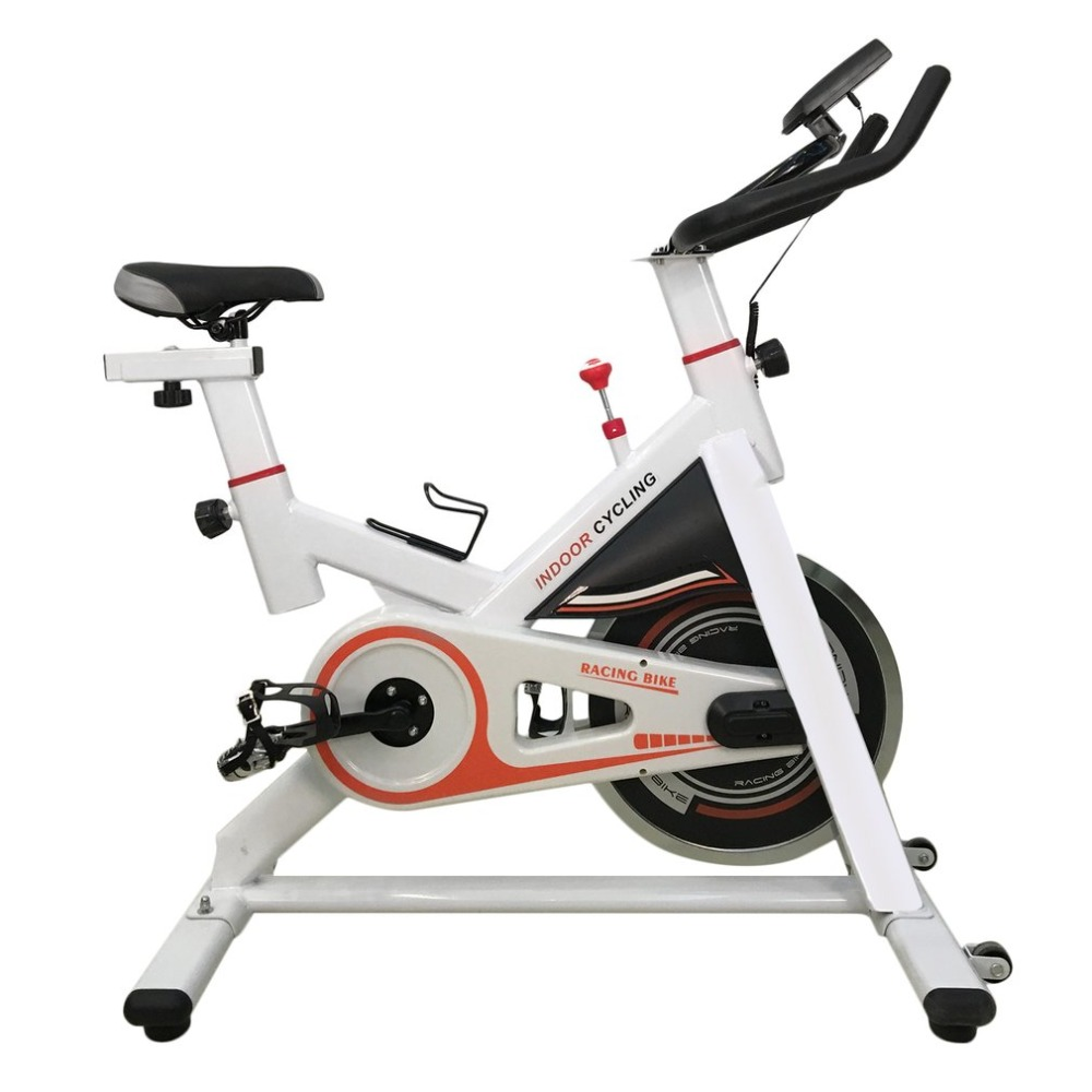 Black /White Colors Durable Pedal Exercise Bicycle Indoor Cycle CY-S401 Upgrated Fitness Bike Universal Home Exercise Equipment stamina cps 9300 indoor cycle