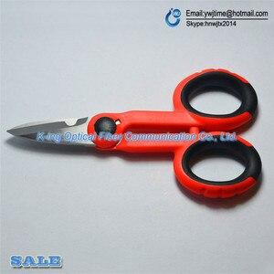 Image 5 - RUBICON Tijeras de fibra óptica con mango de plástico antideslizante, RCZ 527 de la marca japonesa, para cortar líneas de Kevlar, 1 Uds.