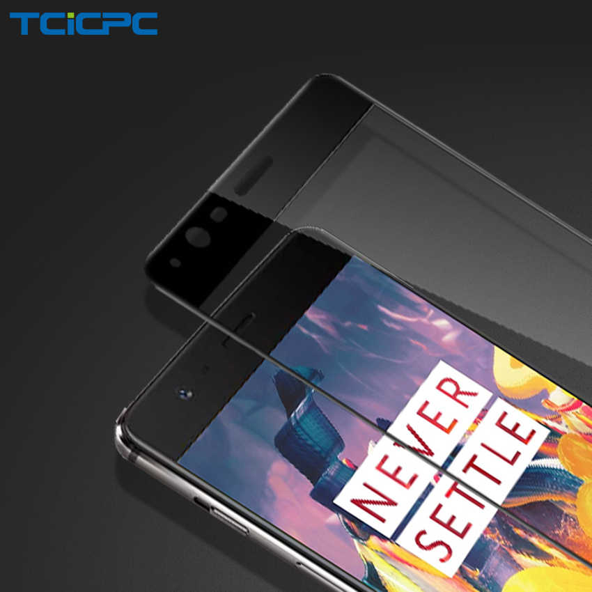 TCICPC Tempered Glass For Oneplus 3T Oneplus 3 Full Screen Protector For One Plus 3T 3 Oneplus3 A3010 9H Protective Film Glass