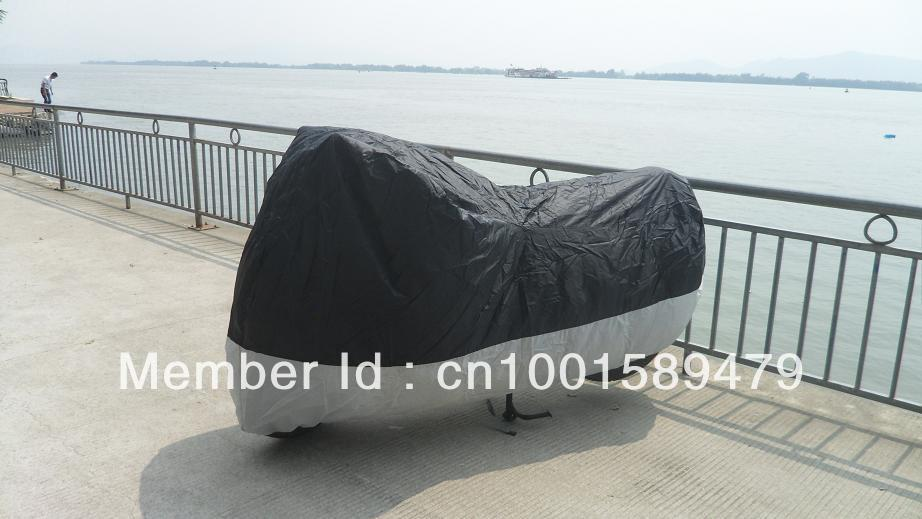 Free Shipping High Quality Dustproof Motorcycle Cover for Honda Shadow ACE VT 600 750 Cruiser Helex