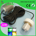 60W 12V LED Green Underwater Fishing Light Lamp Fishing Boat Light Night Fishing Lure Lights for Attcating Fish