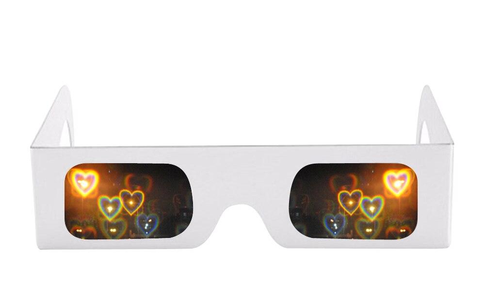 Linhas 3D Íris Grades De Difração Óculos