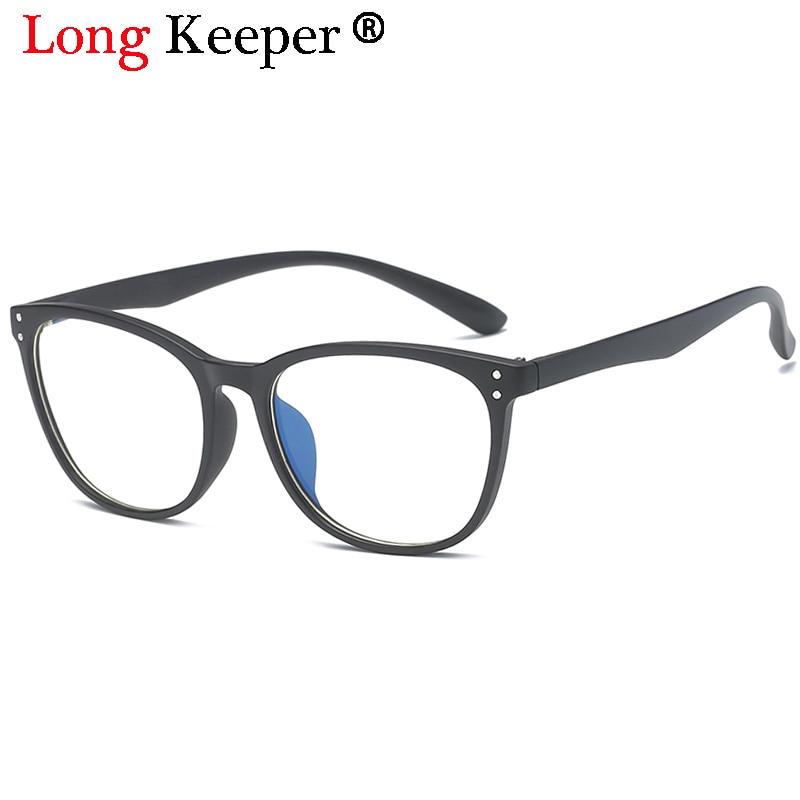 6624ff07952 Long Keeper 2018 Round Eyeglasses Frame Glasses Trendy Unisex Men Women Eye  wear Frames Clear Lens