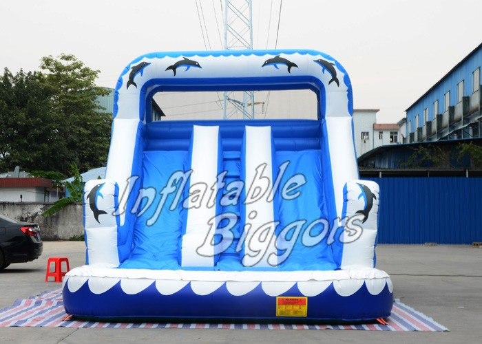 Hot Selling Inflatable Slide With Water Pool Giant Inflatable Slide For Sale factory price giant big inflatable water slide with pool game on sale