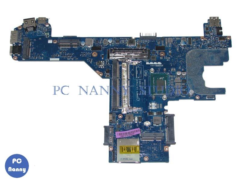 NOKOTION 0D3RGW D3RGW QAL70 LA-7741P لديل خط العرض E6330 محمول نظام اللوحة 13.3 إنتل كور i7 3520 M 2.90 GHz hd4000