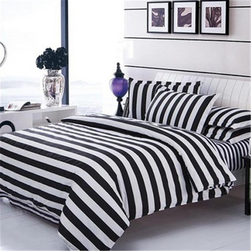 hohe qualit t gro handel schwarz wei gestreifte. Black Bedroom Furniture Sets. Home Design Ideas