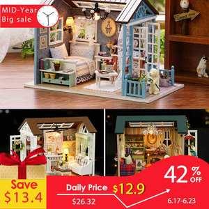 Doll House Miniature DIY Model