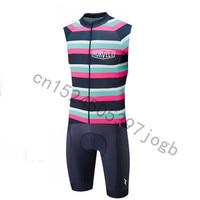 New Hot morvelo Triathlon Skinsuit Cycling Skinsuit one piece Bodysuit Ropa Ciclismo Quick Dry MTB Bike Clothes Men wear