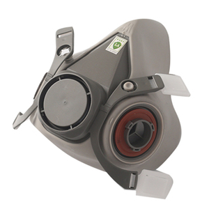 Image 2 - 6200 نوع الصناعية نصف الوجه اللوحة الرش التنفس قناع واقي من الغاز دعوى سلامة العمل تصفية الغبار قناع استبدال 3M
