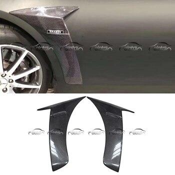 W222 B Style voiture Style fibre de carbone flux d'air Kits de garde-boue prises pour Mercedes Benz classe S W222