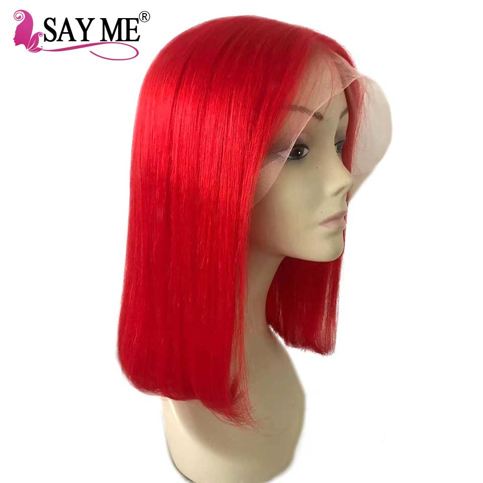 Aliexpress Com Buy Short Bob Wigs Human Hair Straight