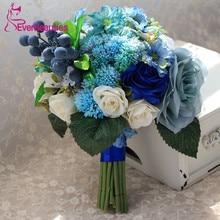 Artificial Wedding Flowers Buque de noiva Wedding Bouquets For Brides Outside Wedding Bruidsboeket