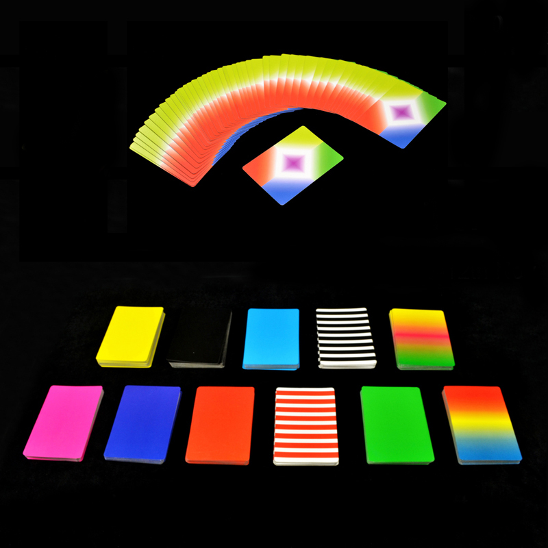 1 deck ultr thin flying cards magic tricks card vanishing