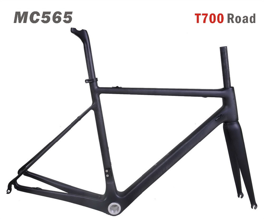 High Modulus Toray t700 Carbon fiber Road Bike Frame MIRACLE 700c Carbon road racing Bicycle frame miracle new design high modulus toray carbon fiber t700 142mm thru axle carbon cyclocross bikes frame
