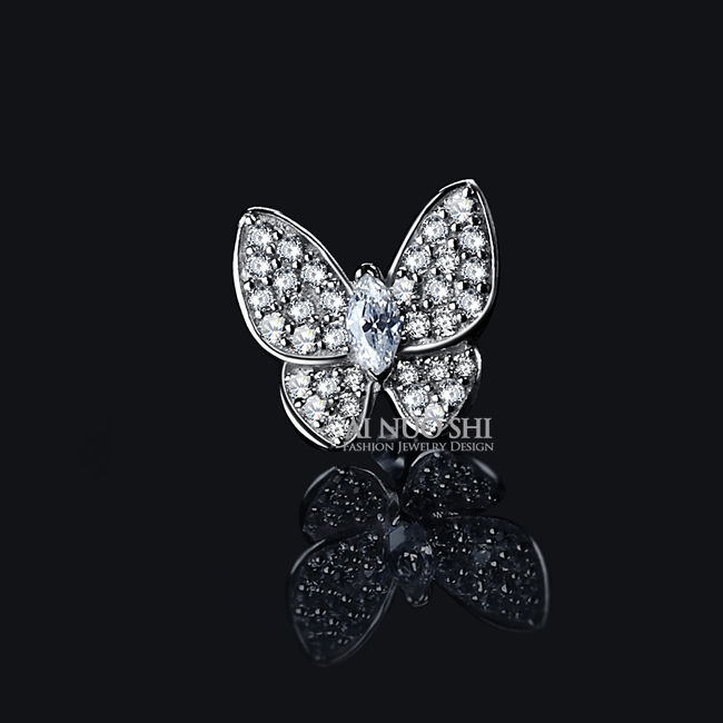 Beautiful Butterfly Earrings Most Brilliant Thing In World