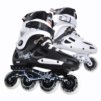 Inline Speed Skates Patine Roller Skates For Shoes FSK Slalom Powersliding Quad Skates Sneakers With Rollers Good As Seba IA57