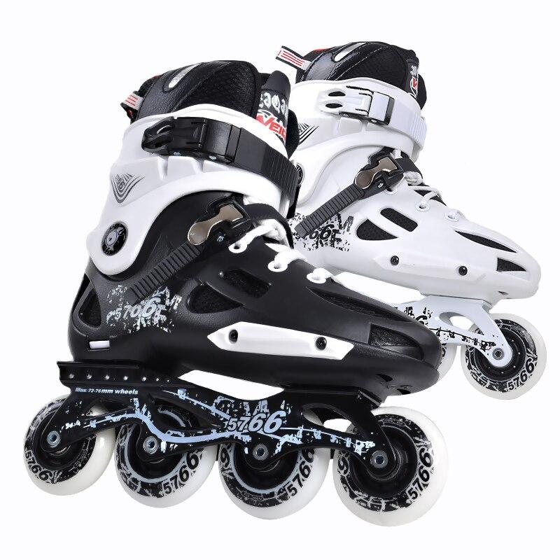 Original WEIQIU professional roller skates ,FSK slalom sliding quad skates,PU roller aluminum alloy frame inline skates,IA57 professional speed skate shoes frame roller skates 3x125 3x110 bracket 150 165 195 hole adults inline skates boots
