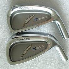 New Cooyute Golf head Fourteen TC530 Golf Irons head set  4-9P Golf Clubs  head no Club shaft Free shipping