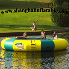 high quality water trampoline inflatable water jumping bed for entertainment