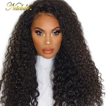 Nadula Curly Hair Wigs For Black Women 13*4 Lace Front Human Hair Wigs Brazilian Virgin Hair Lace Front Wigs Pre Plucked - DISCOUNT ITEM  30% OFF All Category