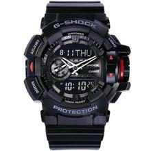 Casio watch Multi-functional double-display fashion sports waterproof men's watches GA-400-1B GA-400-7A GA-400-1A