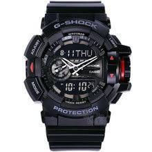 Casio watch Multi-functional double-display fashion sports waterproof men's watches GA-400-1B GA-400-7A