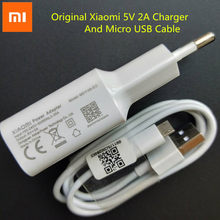 Xiaomi Original Charger 5V 2A USB Wall Charge Adapter Micro USB Data Cable For Redmi Note 5 6 pro plus 6A 5A 4A 4X/A2 Lite s2 4(China)