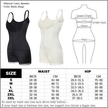 Women Full Body Shaper Modeling Belt Adjustable Waist Trainer Butt Lifter Thigh Reducer Panties Control Push Up Shapewear Corset 3