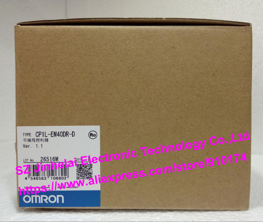 100% New and original CP1L-EM40DR-D OMRON PLC CONTROLLER [zob] 100% brand new original authentic omron omron photoelectric switch e2s q23 1m 2pcs lot
