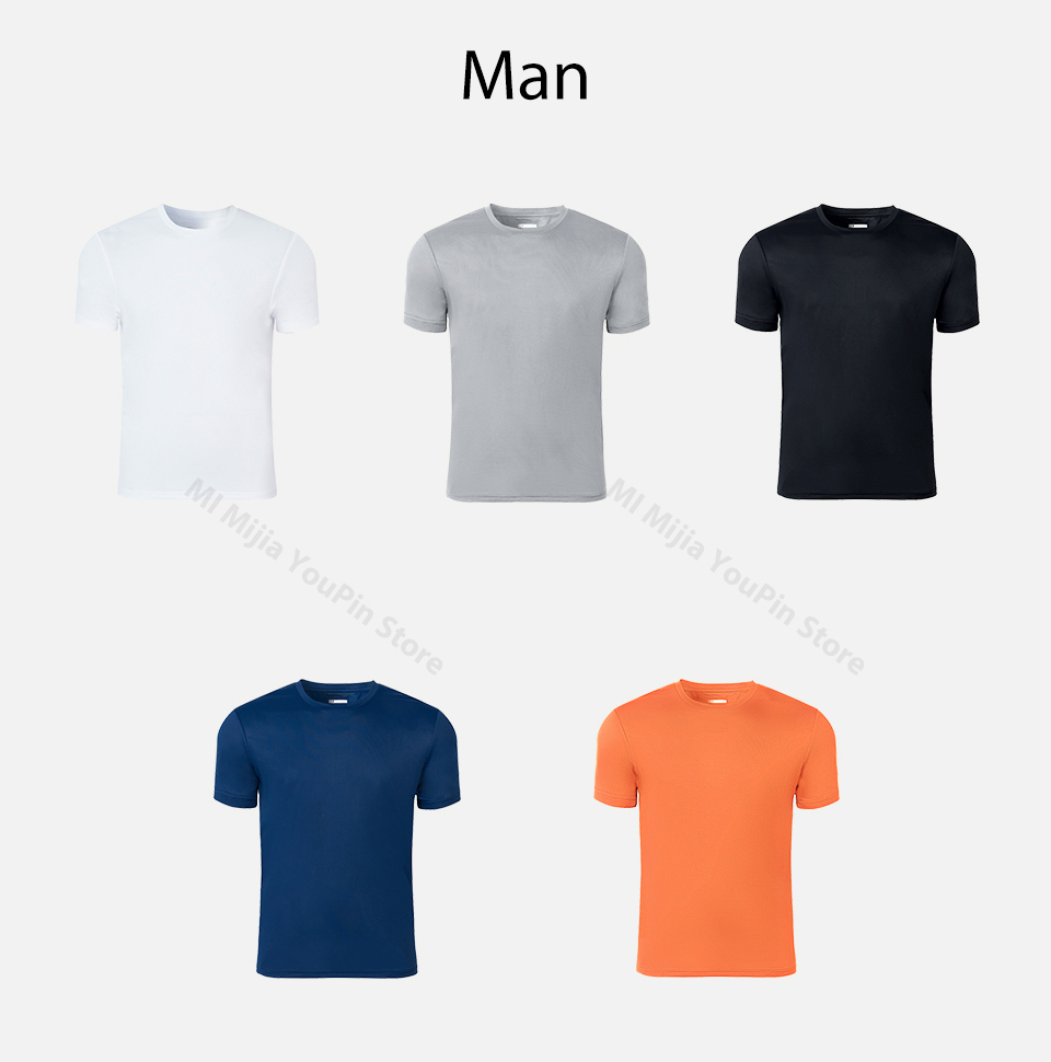 Image 5 - Xiaomi ZENPH Quick Dry light Breathable Short Sleeve Sports Comfortable Finess Sport T shirts Quick drying Shirt  for Men-in Smart Remote Control from Consumer Electronics