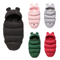 Winter Autumn Baby Sleeping Bag Waterproof Footmuff For Newborn 36month Stroller Accessories