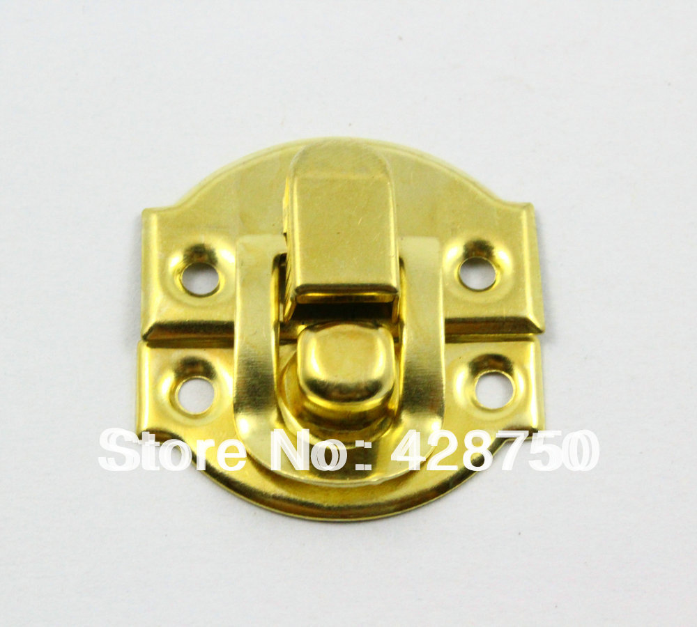 buy gold jewelry box hasp latch lock