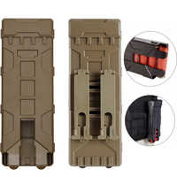 Tactical Shotgun Ammo Bag 10 Rounds Reload Holder Molle Mag Pouch for 12 Gauge Magazine Ammo Cartridge Holder