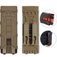 Tactical Shotgun Ammo Sacchetto di 10 Turni di Ricarica Supporto Molle Mag Pouch per 12 Gauge Magazine Munizioni Supporto Della Cartuccia