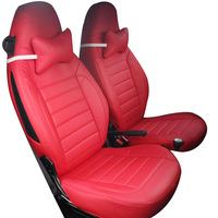Yuzhe Leather Car Seat Cover For Mercedes Benz Smart Fortwo Smart Forfour Car Accessories Styling Cushion