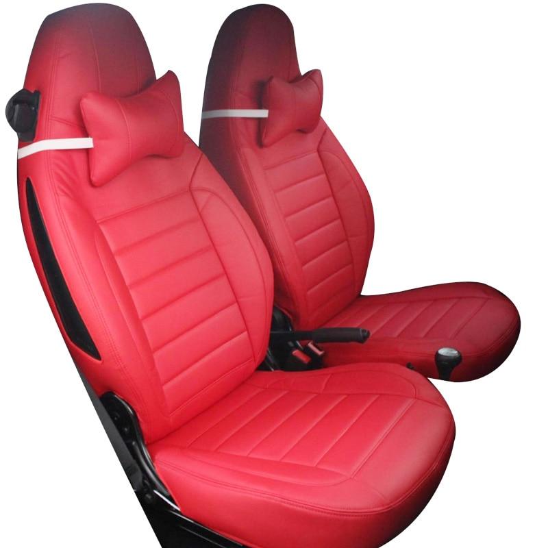 Coprisedile in pelle Yuzhe Per Mercedes-Benz smart fortwo smart - Accessori per auto interni