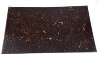290x430mm Blank Guitar Pickguard Scratch Plate Material Sheet Dark Tortoise 3Ply